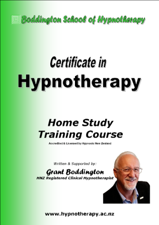 Certificate in Hypnotherapy Printed Manual