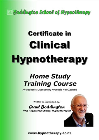 Certificate in Clinical Hypnotherapy